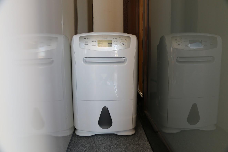 湿気対策 除湿機完備